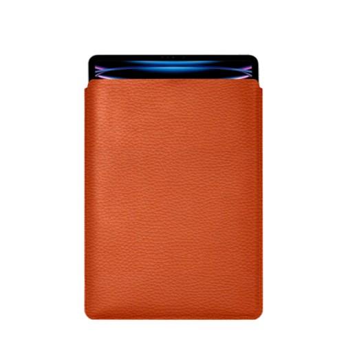 "iPad Pro 12.9"" 2018 付スリーブケース - Orange - Granulated Leather"
