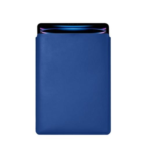 Hülle Für Das iPad Pro 12,9 Zoll 2018 - Königsblau  - Glattleder