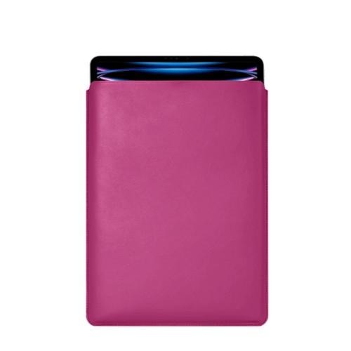 Hülle Für Das iPad Pro 12,9 Zoll 2018 - Fuchsia  - Glattleder