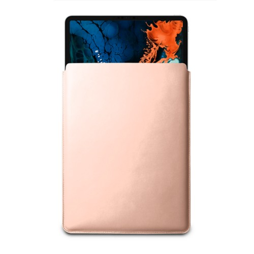 "Sleeve Case for iPad Pro 12.9"" 2018 - Nude - Smooth Leather"