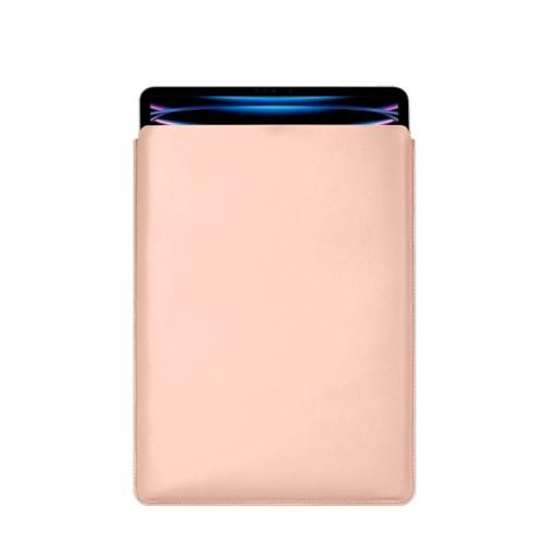 "iPad Pro 12.9"" 2018 付スリーブケース - Nude - Smooth Leather"