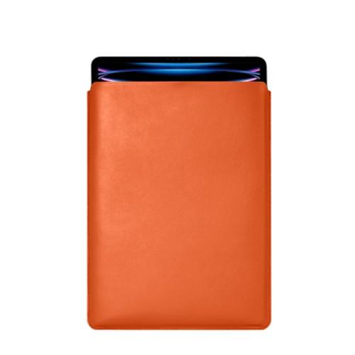 "iPad Pro 12.9"" 2018 付スリーブケース - Orange - Smooth Leather"