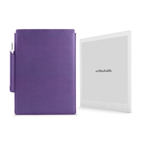 Sleeve Case for reMarkable Tablet - Lavender - Granulated Leather