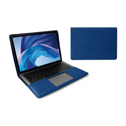 "Cover per MacBook Air 13"" - Blu Reale - Pelle Ruvida"
