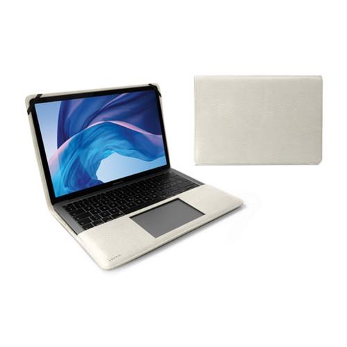 "Cover per MacBook Air 13"" - Avorio - Pelle Ruvida"