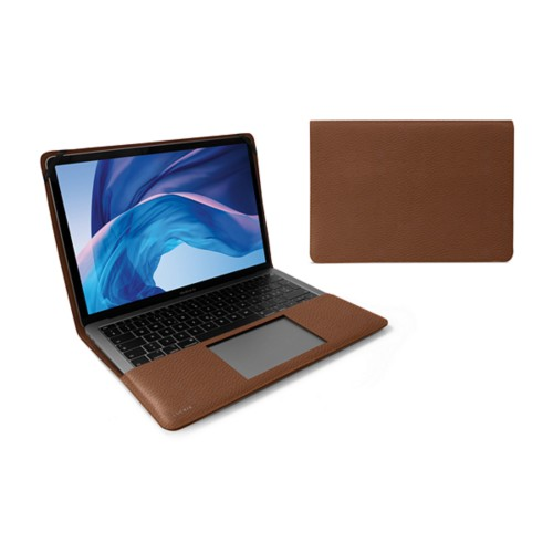 13-inch MacBook Air case - Tan - Granulated Leather