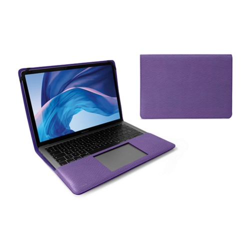 13-inch MacBook Air case - Lavender - Granulated Leather
