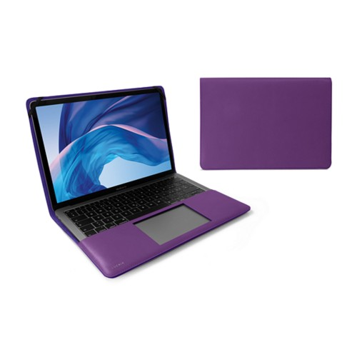 13-inch MacBook Air case - Lavender - Smooth Leather