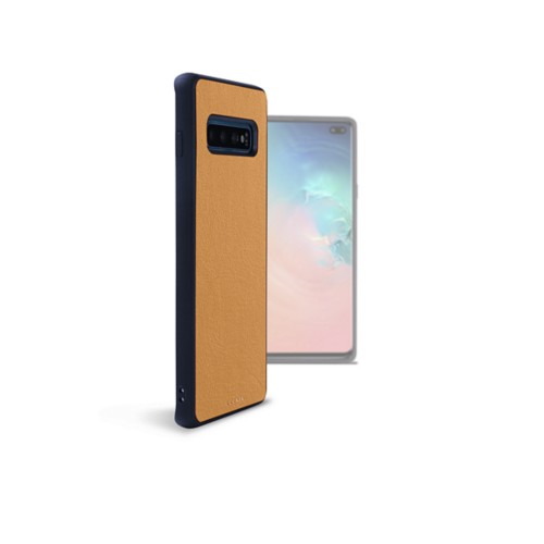 Back Cover Samsung Galaxy S10 Plus - Natural - Smooth Leather