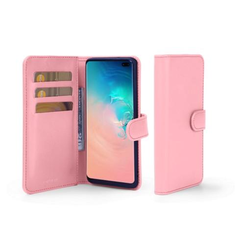 Portemonneehoesje voor de Samsung Galaxy S10 Plus - Roze - Soepel Leer