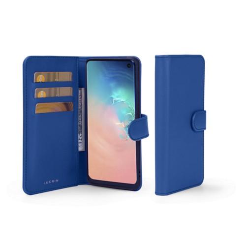 Funda con billetera para Samsung Galaxy S10e - Cielo Azul  - Piel Liso