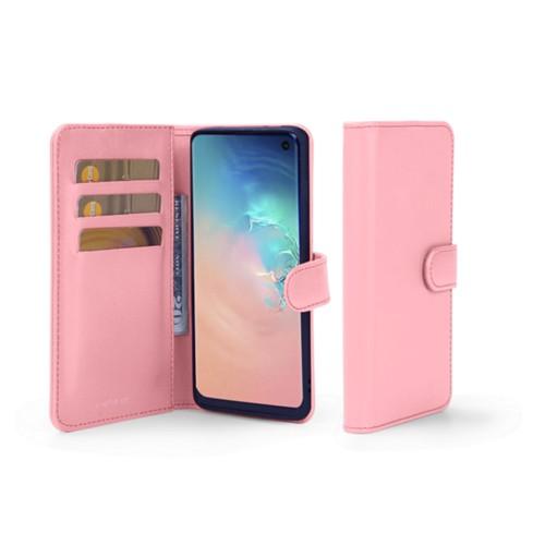 Portemonneehoesje voor de Samsung Galaxy S10e - Roze - Soepel Leer