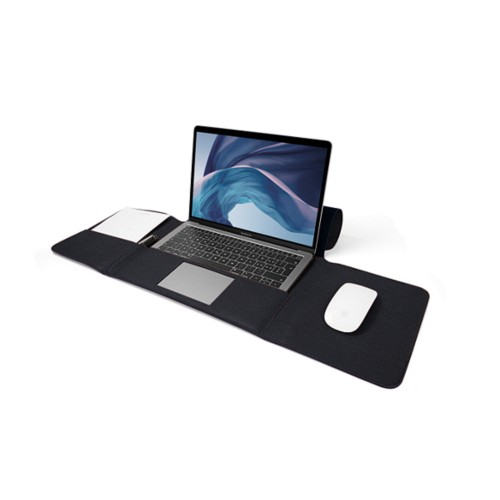 MacBook Air Case 13-inch - Navy Blue - Granulated Leather