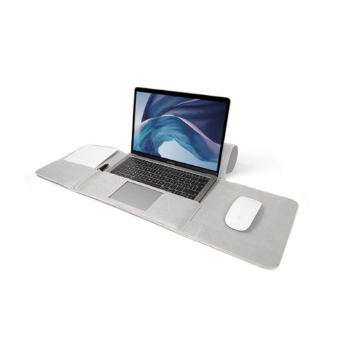 MacBook Air Case 13-inch - White - Granulated Leather