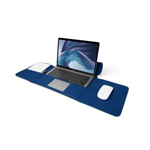 MacBook Air Case 13-inch - Royal Blue - Granulated Leather