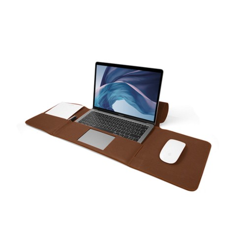 MacBook Air Case 13-inch - Tan - Granulated Leather