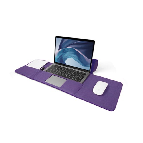 MacBook Air Case 13-inch - Lavender - Granulated Leather
