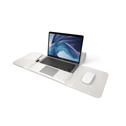 MacBook Air Case 13-inch - White - Smooth Leather