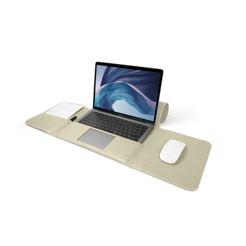 MacBook Air ケース13インチ - Off-White - Smooth Leather