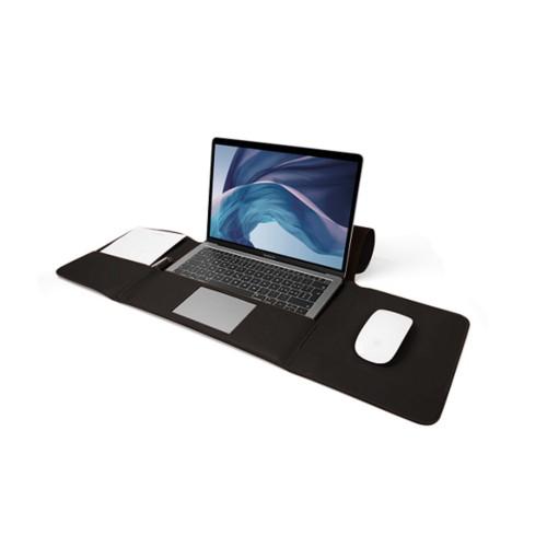 Funda para MacBook Air Case de 13 pulgadas - Marrón oscuro - Piel Liso