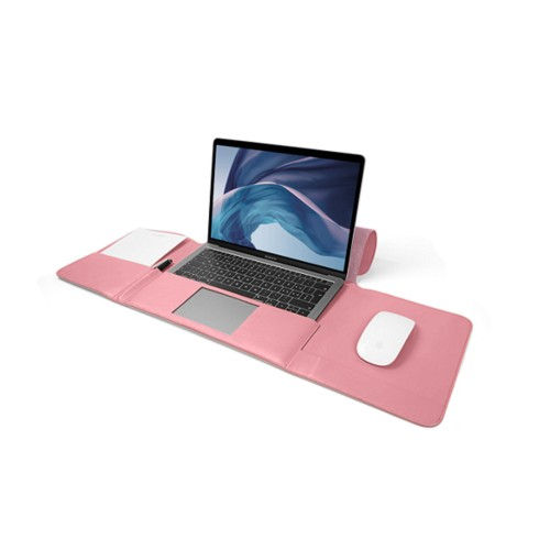 MacBook Air Case 13-inch - Pink - Smooth Leather