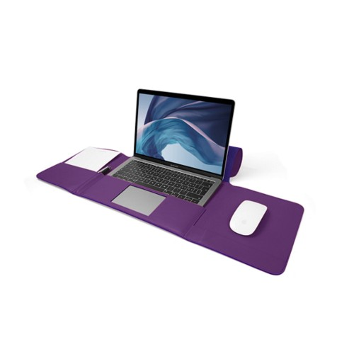 MacBook Air Case 13-inch - Lavender - Smooth Leather
