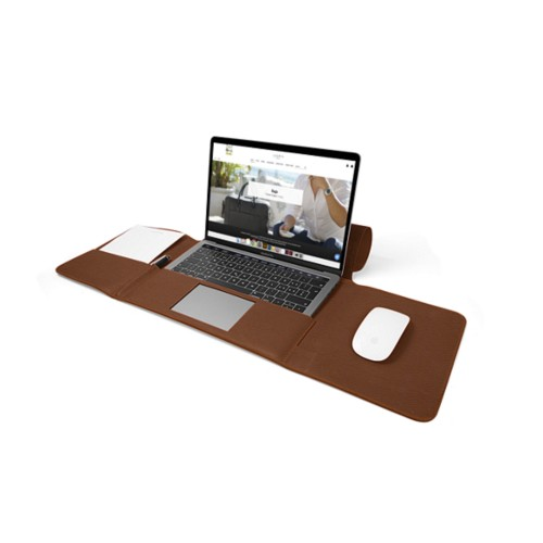 MacBook Pro Case 13-inch - Tan - Granulated Leather