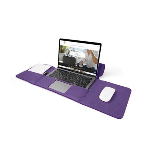 MacBook Pro Case 13-inch - Lavender - Granulated Leather