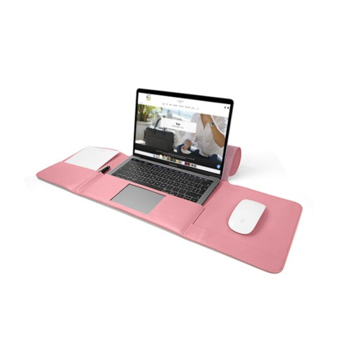 MacBook Pro Case 13-inch - Pink - Smooth Leather