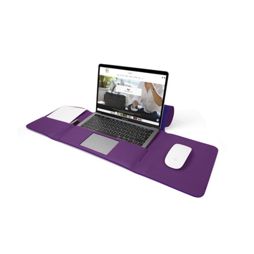 MacBook Pro Case 13-inch - Lavender - Smooth Leather
