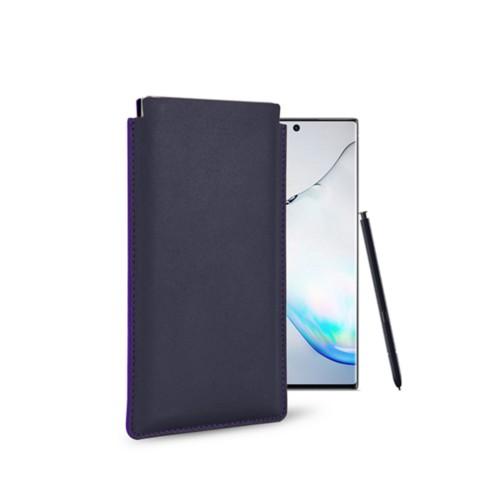 Klassiek Hoesje voor Samsung Galaxy Note 10 - Paars - Soepel Leer