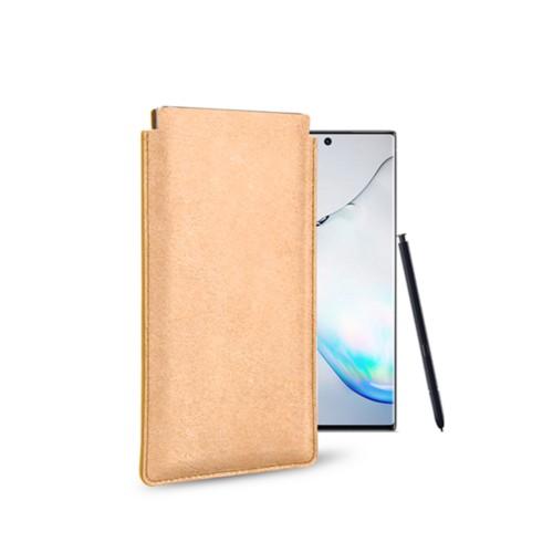 Klassiek Hoesje voor Samsung Galaxy Note 10 - Natuur - Plantaardig gelooid leer