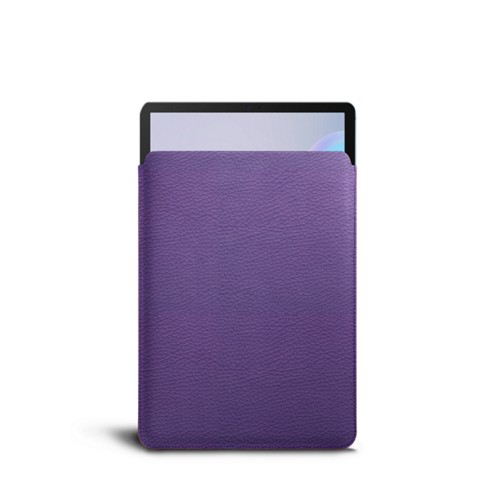 Protective sleeve for Samsung Galaxy Tab 6 - Lavender - Granulated Leather