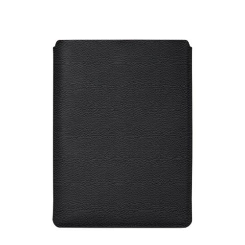 """Schutzhülle für MacBook Pro 16"""" - Schwarz - Genarbtes Leder"""