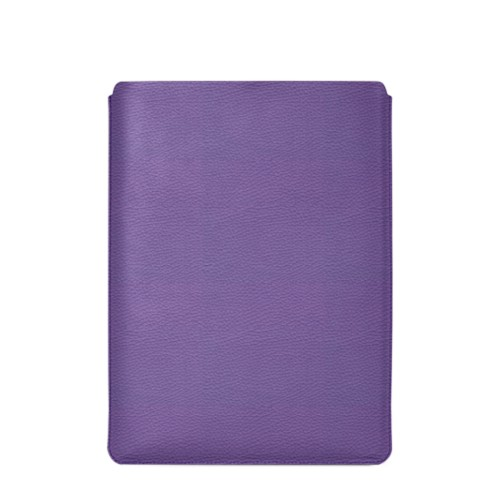"MacBook Pro 16"" protective case - Lavender - Granulated Leather"