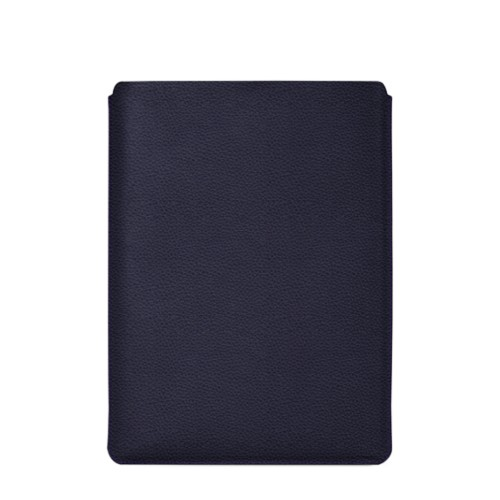 """Schutzhülle für MacBook Pro 16"""" - Violett - Genarbtes Leder"""