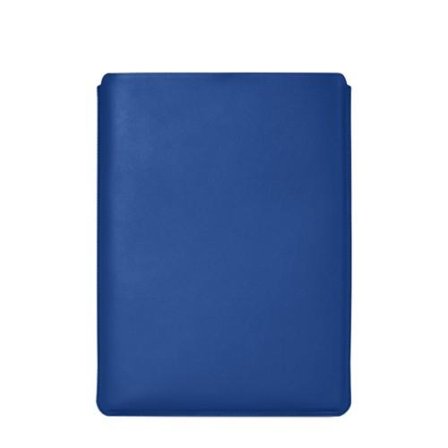 """Schutzhülle für MacBook Pro 16"""" - Königsblau  - Glattleder"""