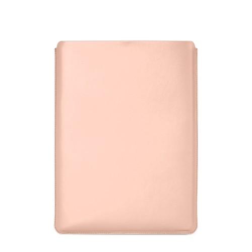 """Schutzhülle für MacBook Pro 16"""" - Nude - Glattleder"""