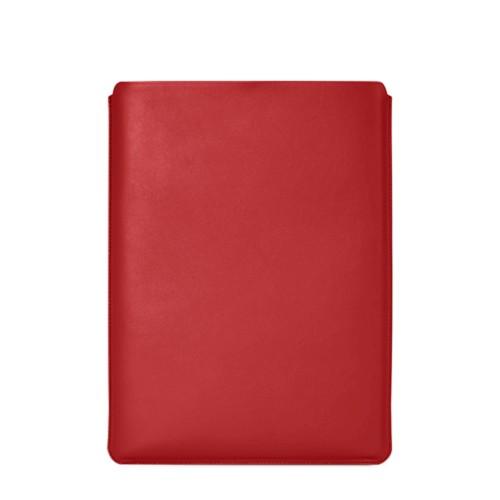 """Schutzhülle für MacBook Pro 16"""" - Rot - Glattleder"""