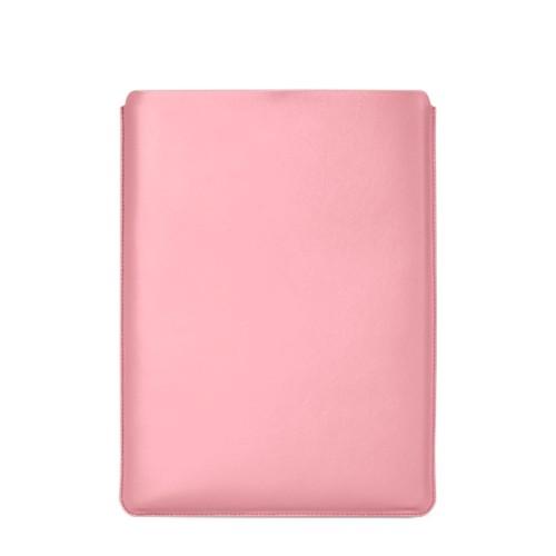 """Schutzhülle für MacBook Pro 16"""" - Rosa - Glattleder"""
