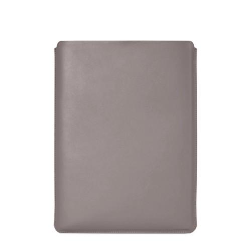 """Schutzhülle für MacBook Pro 16"""" - Hellbraun - Glattleder"""