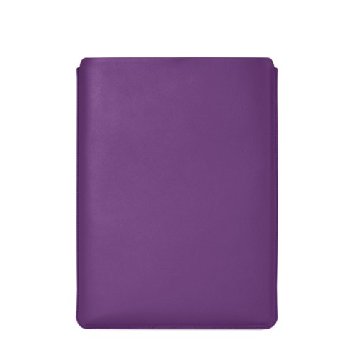 "MacBook Pro 16"" protective case - Lavender - Smooth Leather"