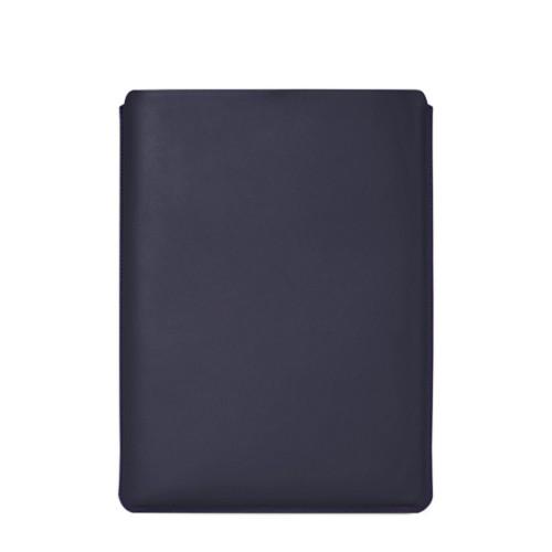 """Schutzhülle für MacBook Pro 16"""" - Violett - Glattleder"""