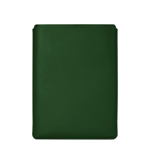 "MacBook Pro 16"" protective case - Dark Green - Smooth Leather"