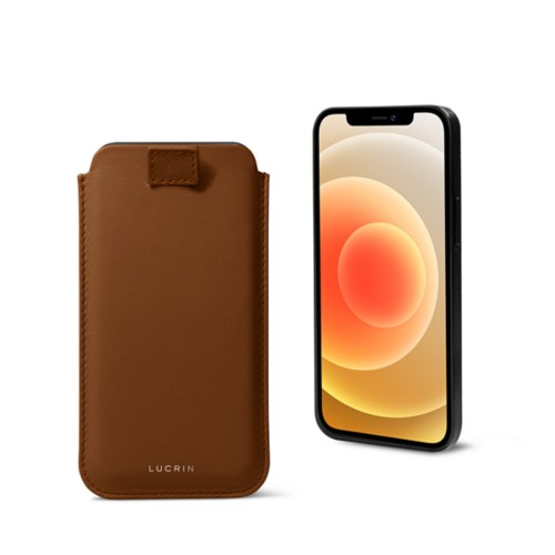 Funda con lengüeta para iPhone 12 Plus