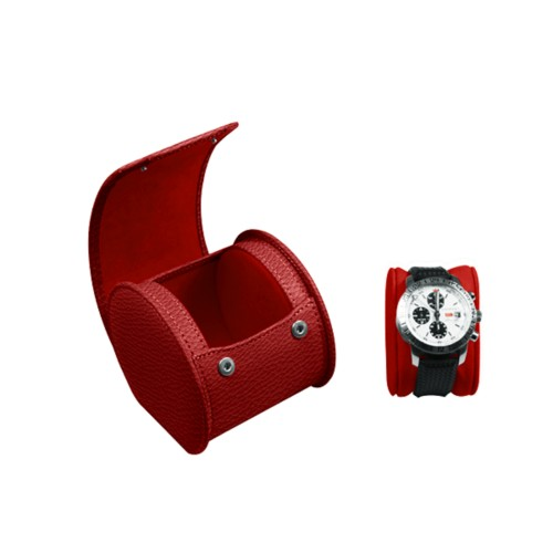 Oval watch box