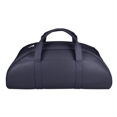 Half-Moon Bag - Purple - Smooth Leather