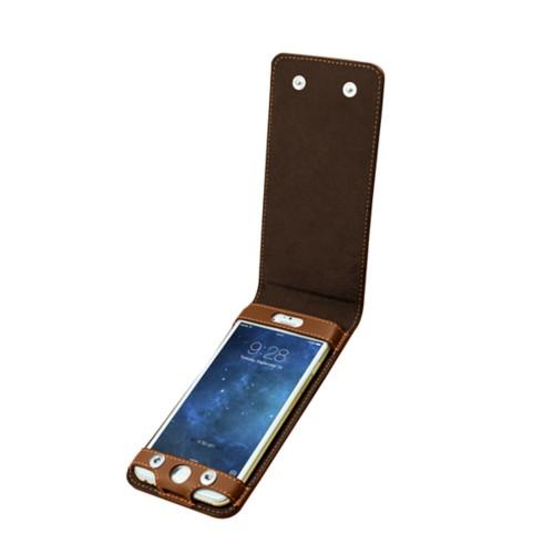Funda con cierre de botón para el iPhone 6