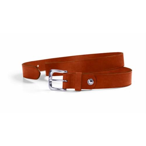 Belt, 3 cm width with stitching