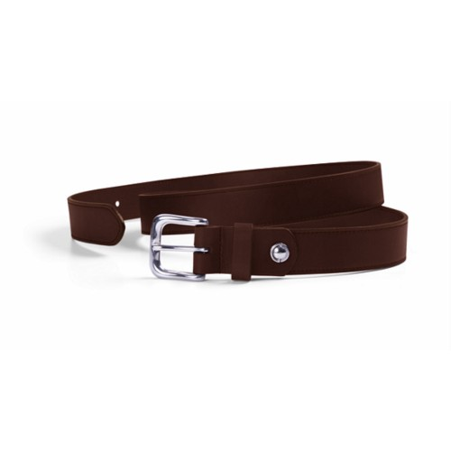 Sports Belt – Width 0.12 inches - Tobacco - Vegetable Tanned Leather